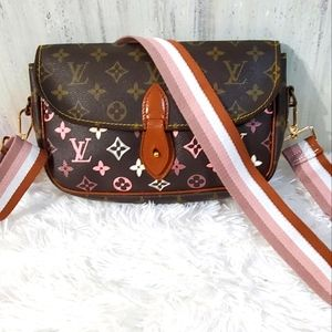 Authentic Custom Louis Vuitton Crossbody bag